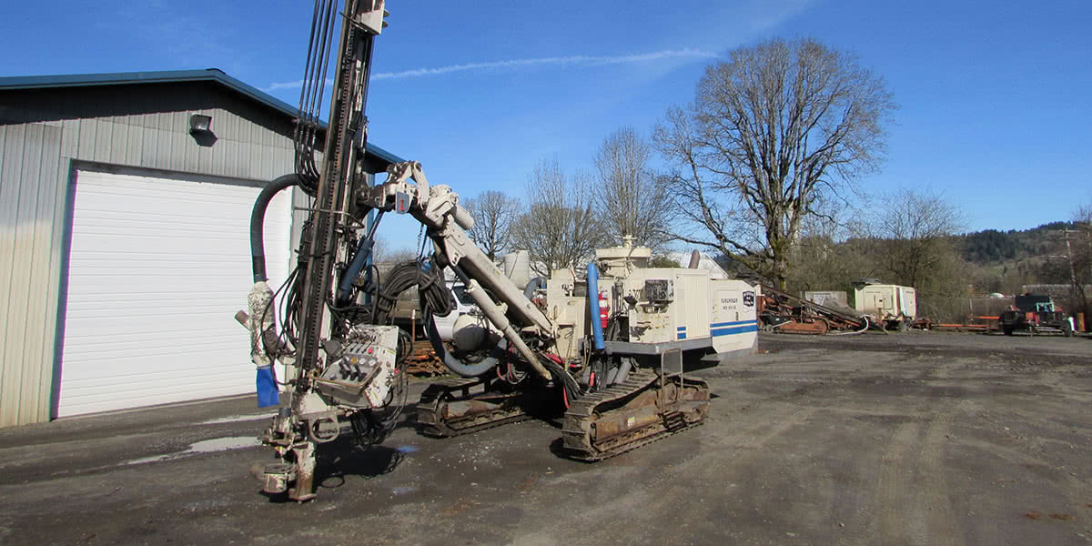 2006 HCR 900 ES Hydraulic Crawler Drill, Serial 2181043