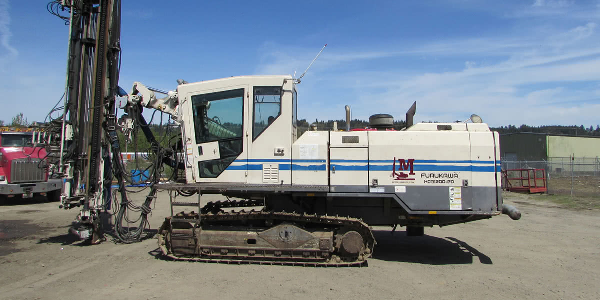 2007 HCR 1200 Hydraulic Crawler Drill, Serial 1352187