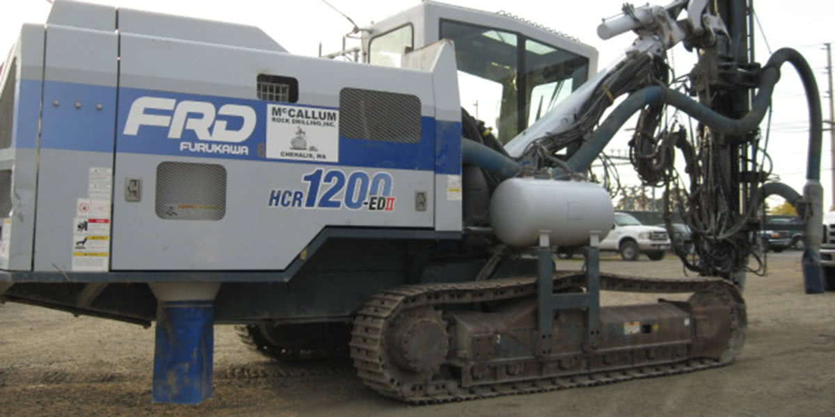 2010 HCR 1200 ED II Hydraulic Crawler Drill, Serial 1353423