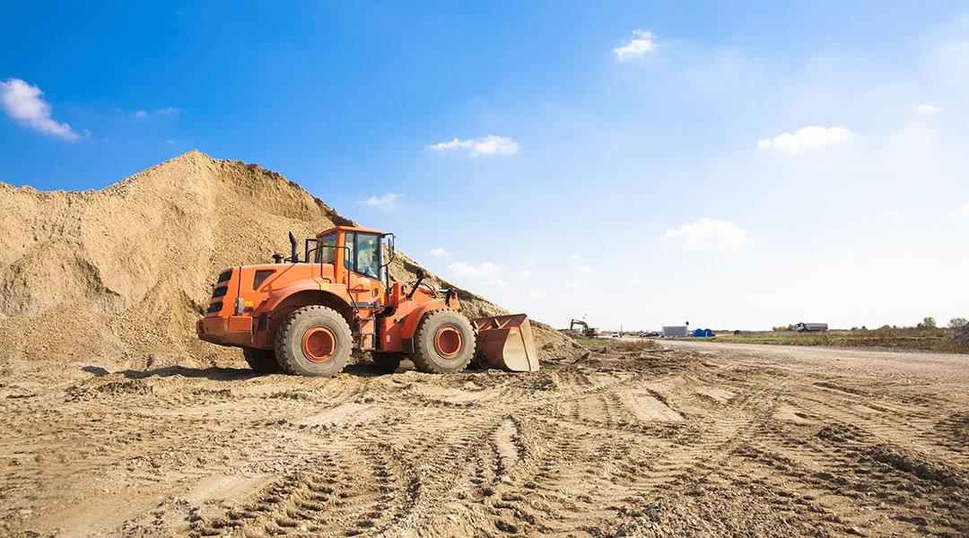 Construction Front Loader