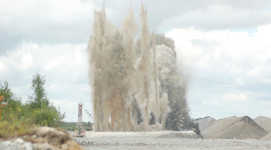 Mining Quarry Blasting