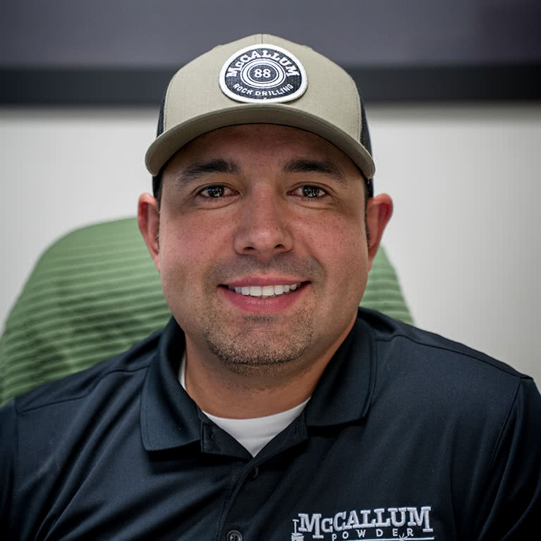 Ramon Coronel, President and Co-Owner at McCallum Rock Drilling and McCallum Powder