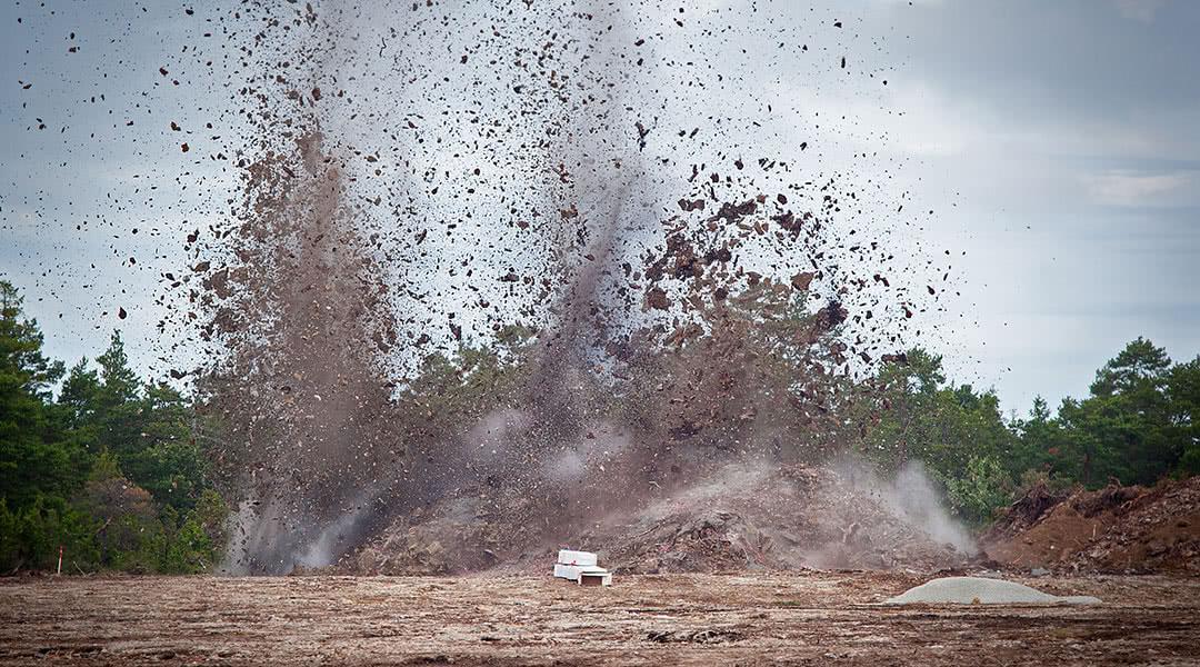 Trench Blasting